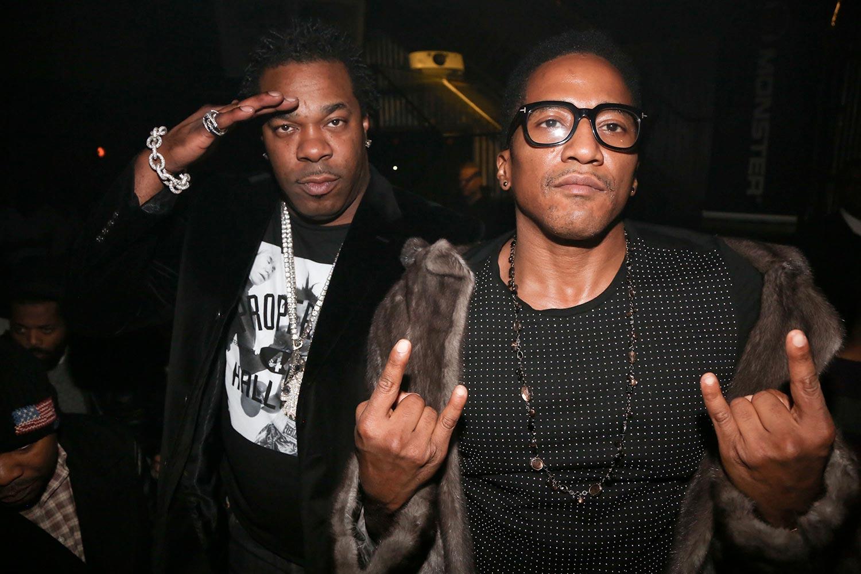 Busta Rhymes et Q-Tip, le duointemporel