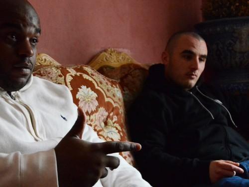 Lalcko et Vîrus, Diamants sur canapé