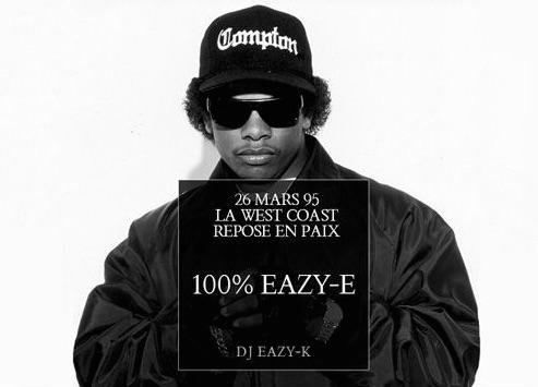 Une mixtape hommage àEazy-E