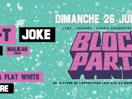 Une Block Party avec Pusha T et Joke