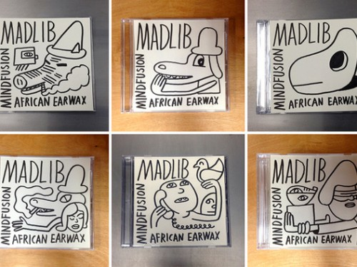 Madlib offre Mind Fusion: African Earwax