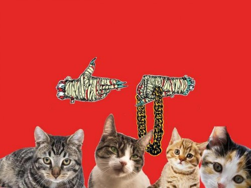 Les chats prennent Run The Jewels en otage