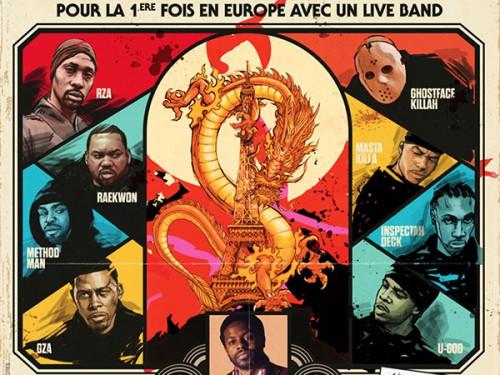 Le Wu-Tang avec un live band au Zénith dimanche 5juillet