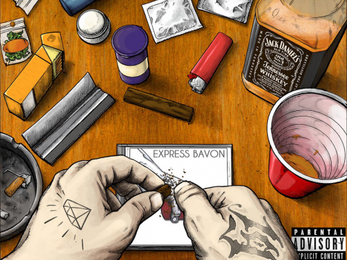 Express Bavon: Préliminaire avantl'album