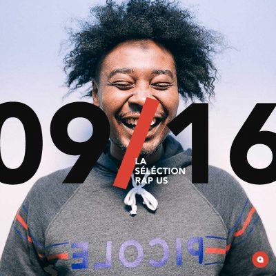 Septembre 2016: la sélection rap