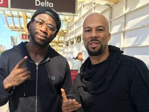 Common, Gucci Mane et Pusha T pour le remix de « Black America Again »