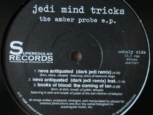 Il y a vingt ans sortait Amber Probe EP de Jedi Mind Tricks