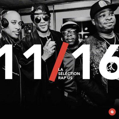 Novembre 2016: la sélection rap