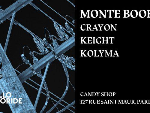 Monte Booker est à Paris ce samedi 8avril