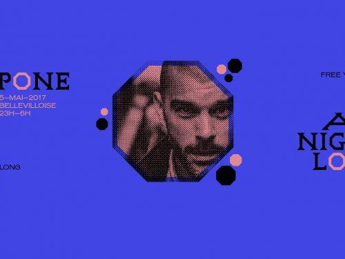 DJ Pone vous emporte pour la nuit à LaBellevilloise