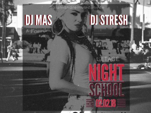 DJ Stresh et DJ Mas aux platines de la prochaine NightSchool