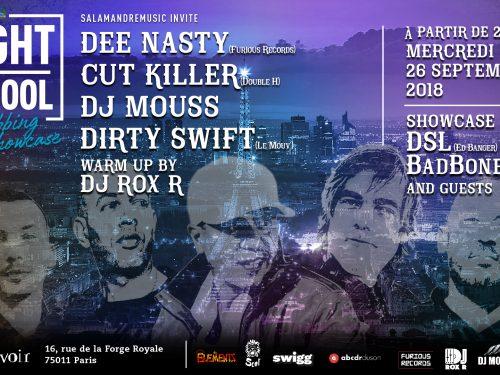 DJ Mouss, Cut Killer et Dee Nasty rassemblés le 26septembre