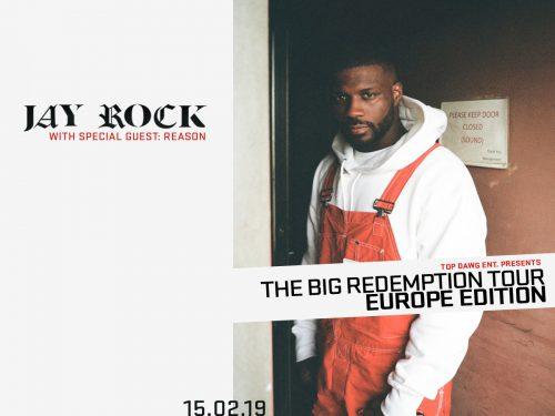 Jay Rock en concert à Paris le 15 février2019