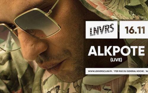 Alkpote en concert à Nancy le 16novembre