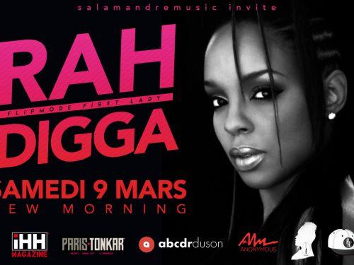 Rah Digga en concert le 9mars