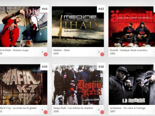 Les 100 meilleurs albums des années2000