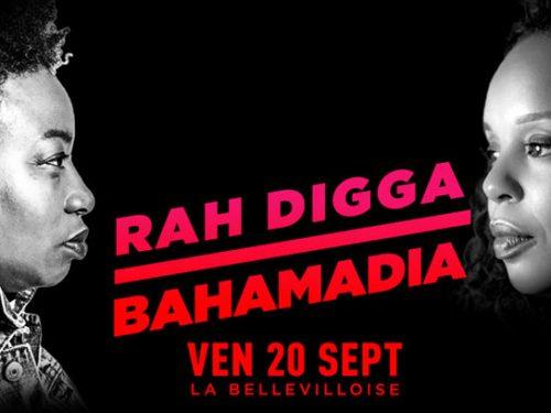 Rah Digga x Bahamadia, nouvelle dateparisienne