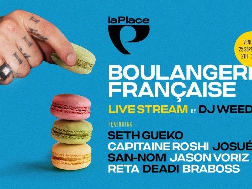 La Boulangerie française sur scène et enlivestream