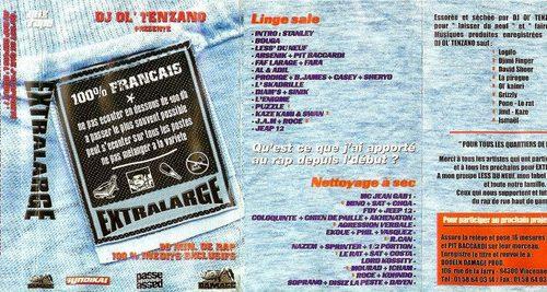 Ol'Tenzano a repassé sa mixtape<em>Extralarge</em>